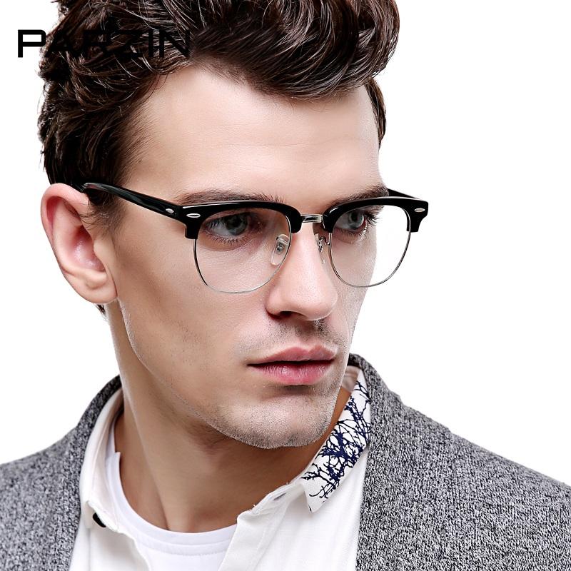 Kính nam thời trang mắt kính trong TK12