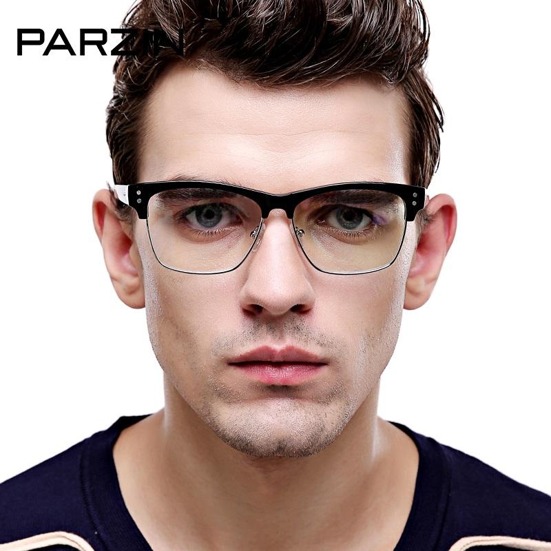 Kính nam thời trang mắt kính trong TK17