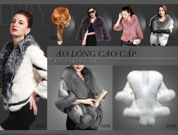 Các nhà phân phối lớn có nhiều ưu đãi về giá áo lông thú