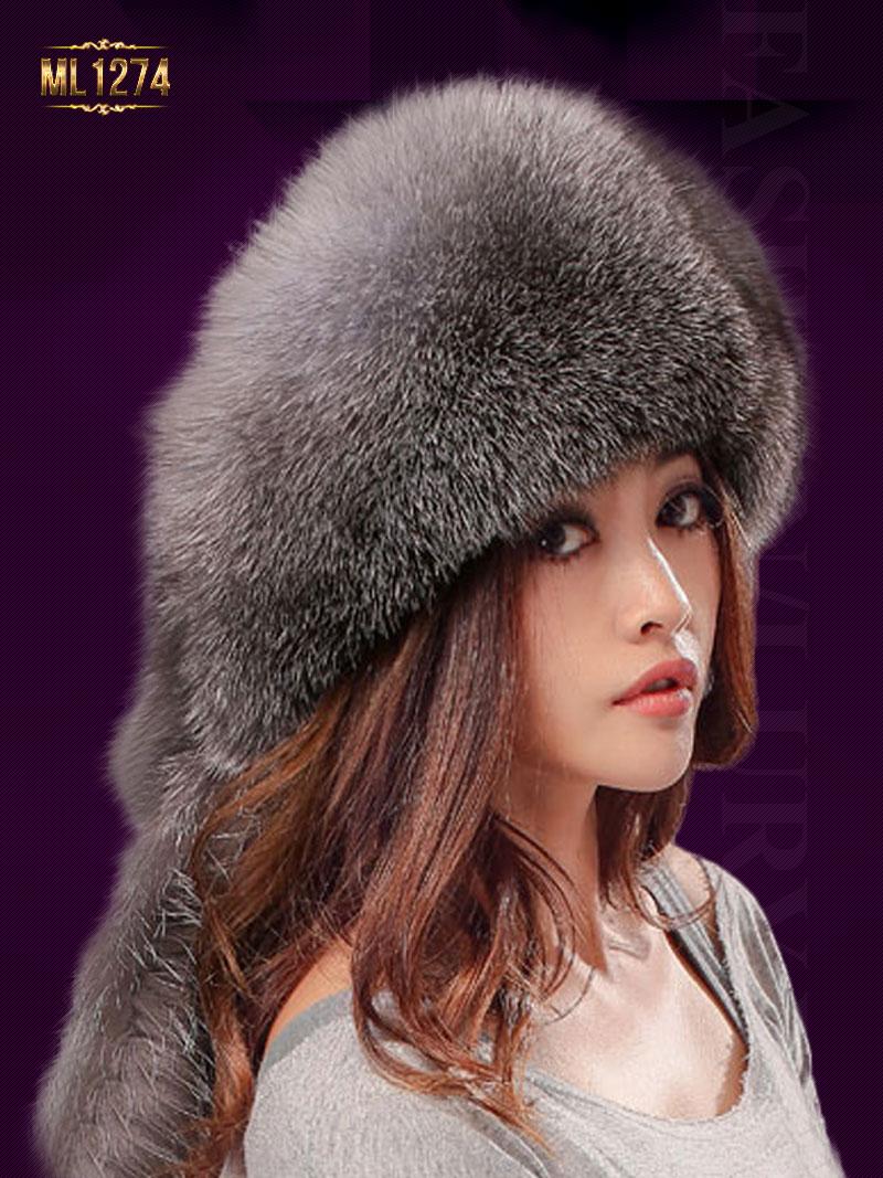 Mũ lông nồi HQ màu trơn thời trang ML1274 (Màu nâu)
