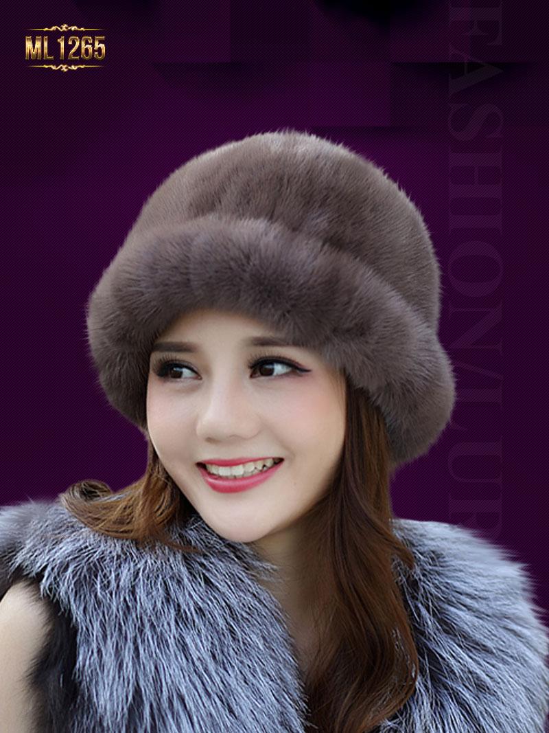 Những kiểu mũ lông đẹp nao lòng khiến nhiều quý cô phát hờn