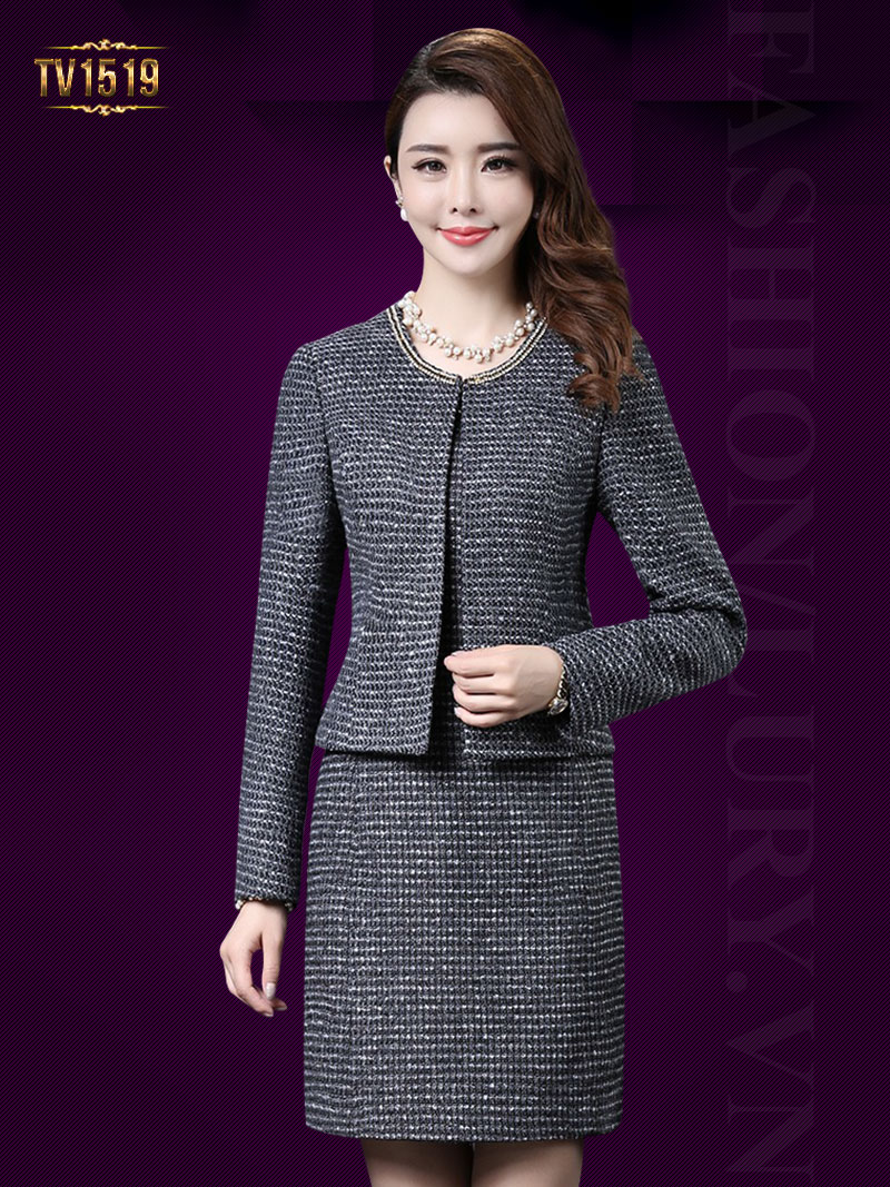 Những mẫu váy rời trung niên rất phù hợp với cô nàng công sở