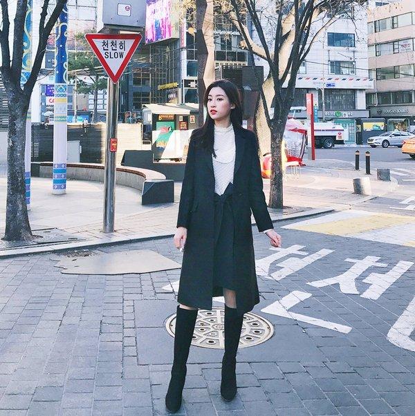 Shop bán áo dạ dáng dài Hàn Quốc đẹp Hà Nội  6