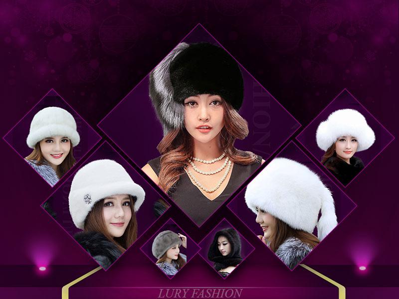 lury thương hiệu bán mũ lông nữ hàng hiệu cao cấp